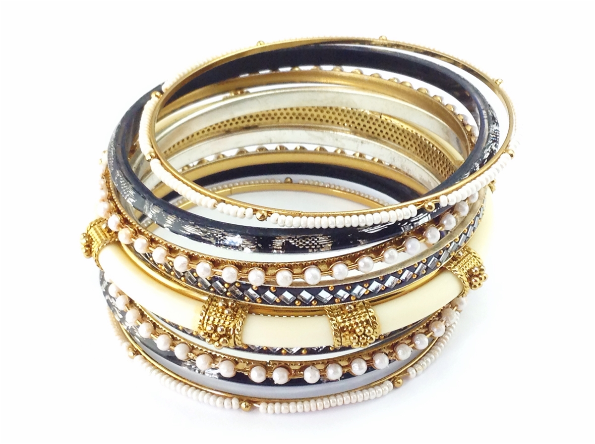 Goddess plus size bangle bracelet set for Plus size jewelry bracelets