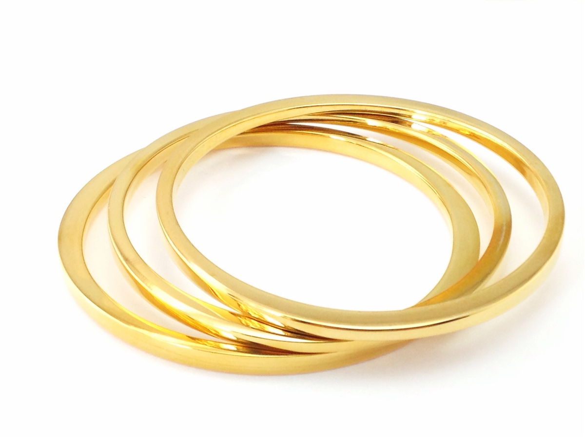 Plus size sculptural bangle bracelets for Plus size jewelry bracelets